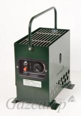 Gazcamp - Heatbox 2000 (pulverbeschichtet grün/ 50mbar)