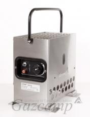 Gazcamp - Heatbox 2000 (Edelstahl/ 50mbar)