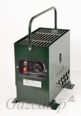 Gazcamp - Heatbox 2000 (pulverbeschichtet grün/ 30mbar)
