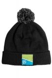PrestonInnovations - Black/Grey Bobble Hat