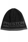 PrestonInnovations - Black/Grey Beanie Hat